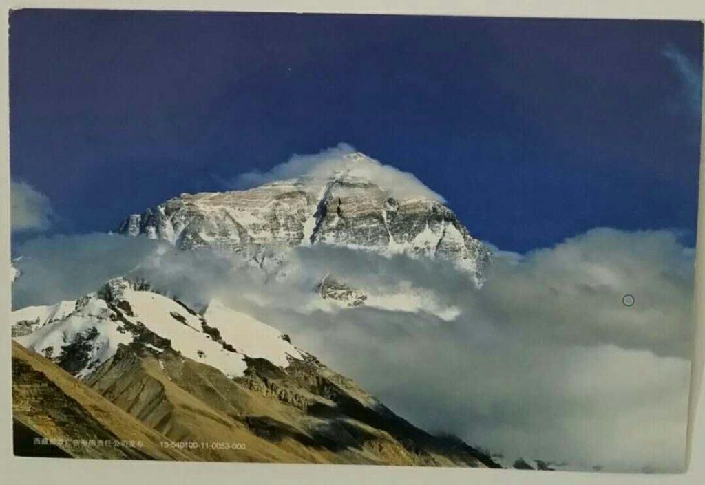 明信片-珠穆朗玛峰正面