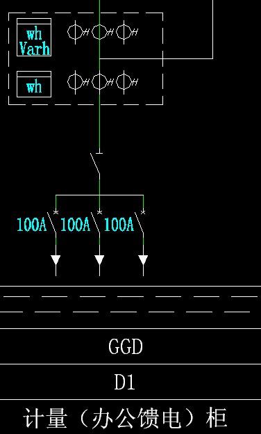 dts634型三相四线电能表接线图